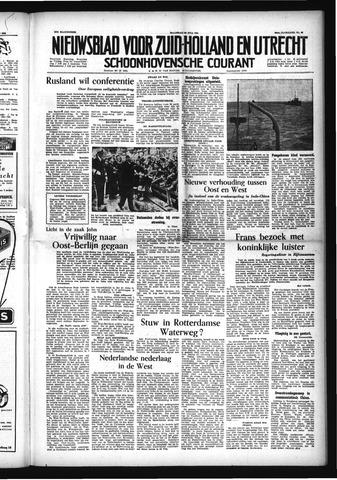 Schoonhovensche Courant 1954-07-26