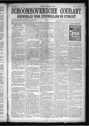 Schoonhovensche Courant 1926-02-05