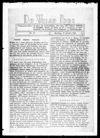 De Vrije Pers 1945-01-30
