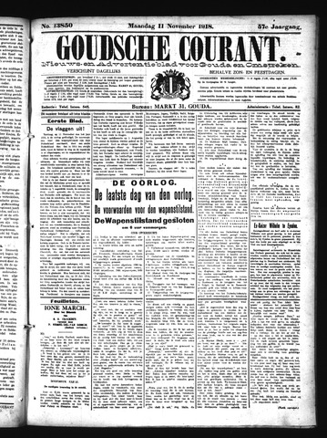 Goudsche Courant 1918-11-11