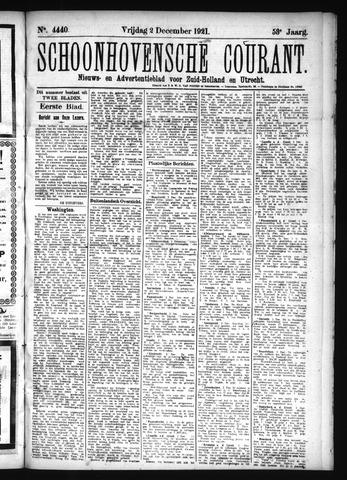 Schoonhovensche Courant 1921-12-02