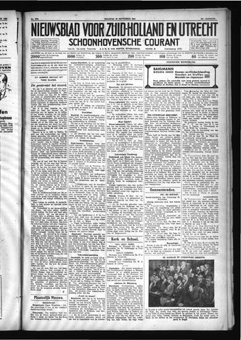Schoonhovensche Courant 1930-09-29