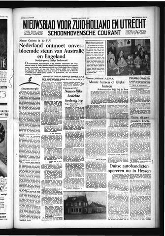 Schoonhovensche Courant 1954-11-26