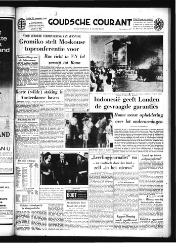 Goudsche Courant 1963-09-20