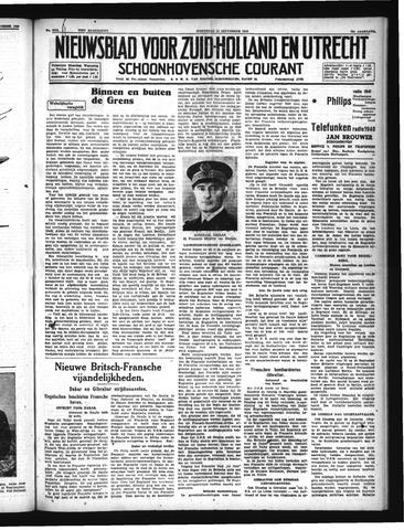 Schoonhovensche Courant 1940-09-25