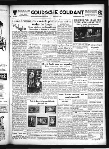 Goudsche Courant 1952-01-16