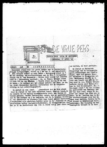 De Vrije Pers 1945-04-21