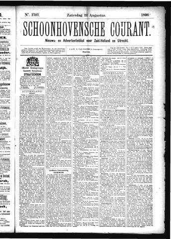 Schoonhovensche Courant 1896-08-22