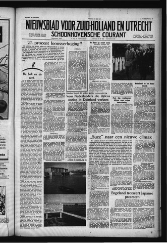 Schoonhovensche Courant 1957-05-17