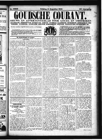 Goudsche Courant 1925-08-14