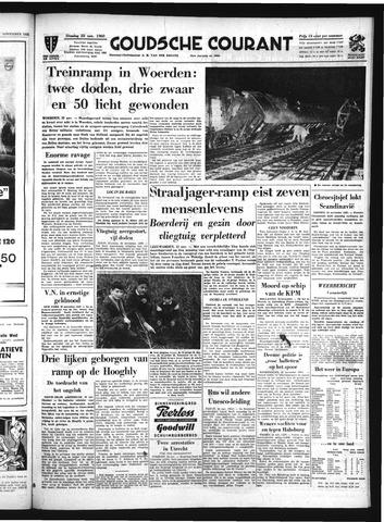 Goudsche Courant 1960-11-22
