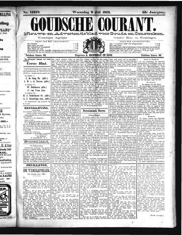 Goudsche Courant 1913-07-09