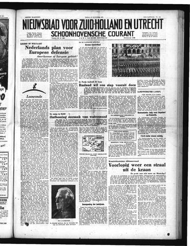 Schoonhovensche Courant 1951-11-23