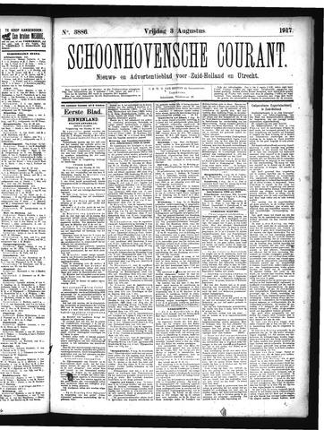 Schoonhovensche Courant 1917-08-03