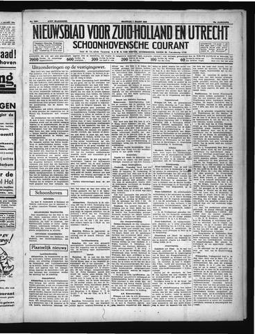 Schoonhovensche Courant 1938-03-07