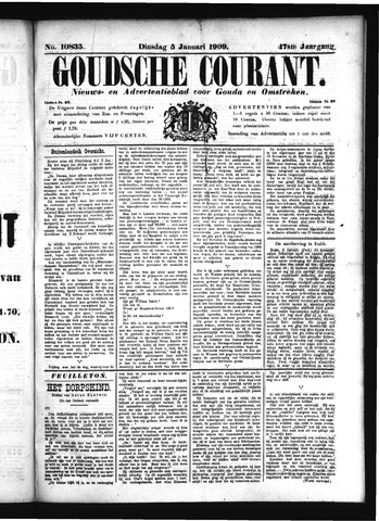 Goudsche Courant 1909-01-05