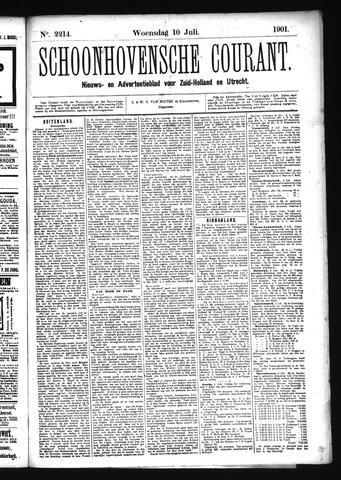 Schoonhovensche Courant 1901-07-10
