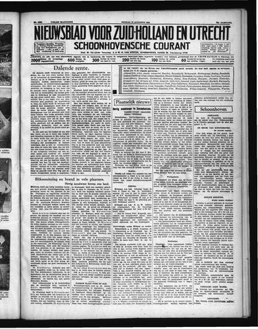 Schoonhovensche Courant 1938-08-12