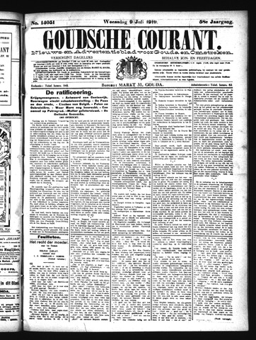 Goudsche Courant 1919-07-09