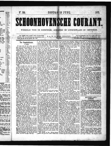Schoonhovensche Courant 1872-06-16