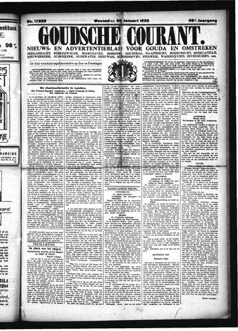 Goudsche Courant 1930-01-29