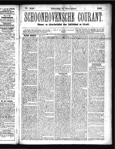 Schoonhovensche Courant 1900-11-17