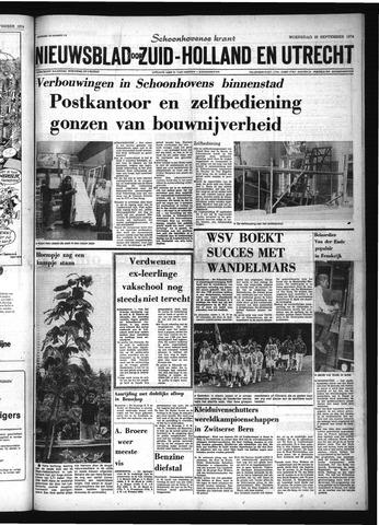 Schoonhovensche Courant 1974-09-25