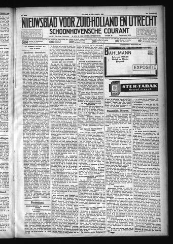 Schoonhovensche Courant 1929-09-20