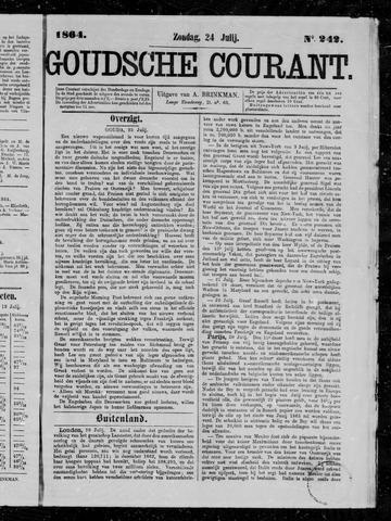 Goudsche Courant 1864-07-24