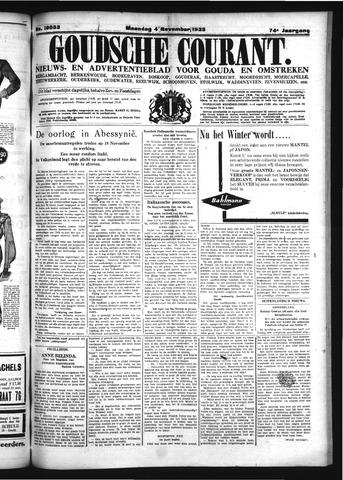 Goudsche Courant 1935-11-04