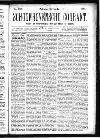 Schoonhovensche Courant 1895-10-26