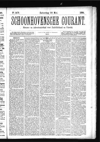 Schoonhovensche Courant 1894-05-26