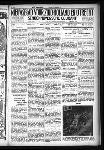 Schoonhovensche Courant 1932-10-05