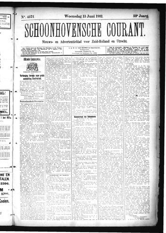 Schoonhovensche Courant 1921-06-15