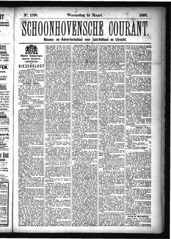 Schoonhovensche Courant 1897-03-24