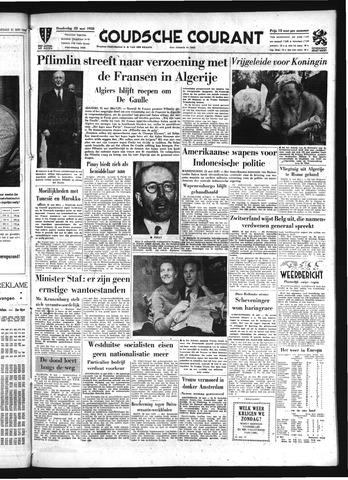 Goudsche Courant 1958-05-22