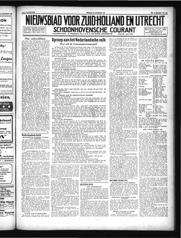 Schoonhovensche Courant 1946-11-29