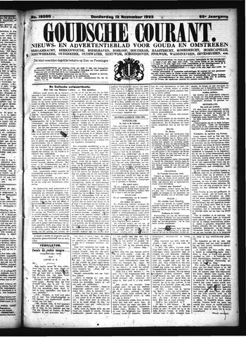 Goudsche Courant 1925-11-12