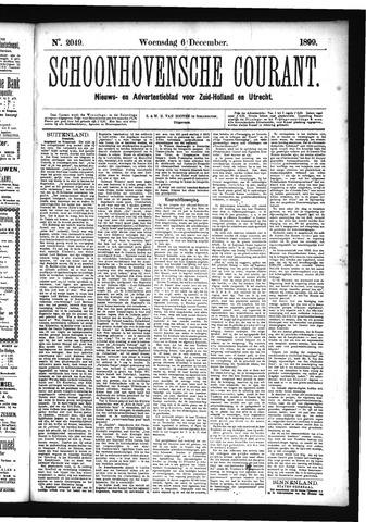 Schoonhovensche Courant 1899-12-06