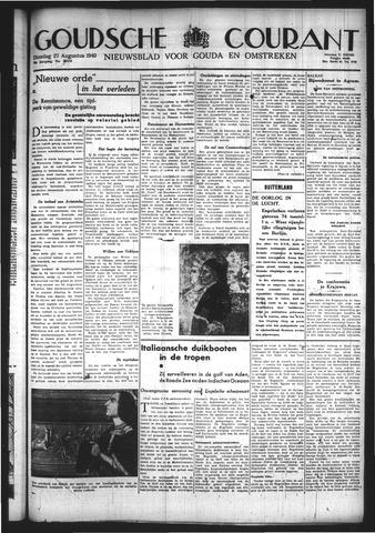 Goudsche Courant 1940-08-27
