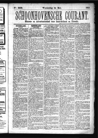 Schoonhovensche Courant 1911-05-24