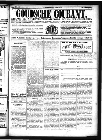 Goudsche Courant 1931-07-25