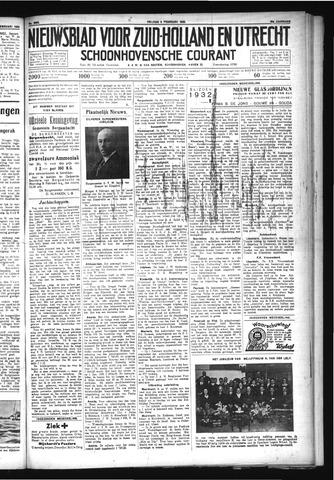 Schoonhovensche Courant 1932-02-05