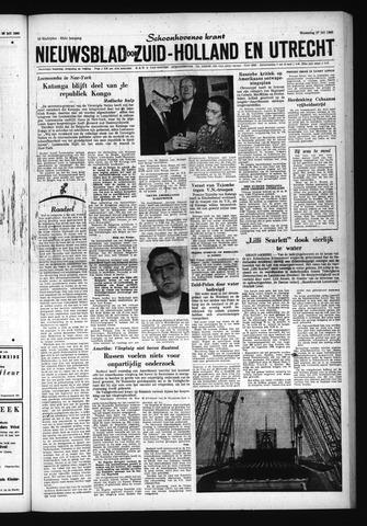 Schoonhovensche Courant 1960-07-27