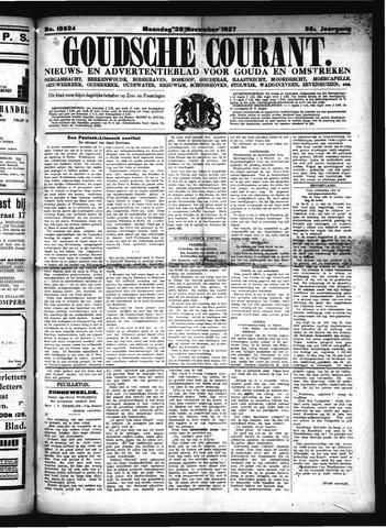 Goudsche Courant 1927-11-28