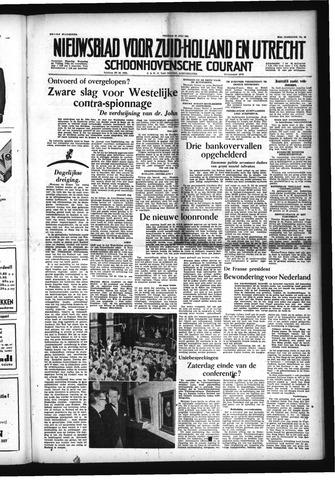 Schoonhovensche Courant 1954-07-23