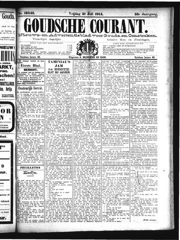 Goudsche Courant 1914-07-31