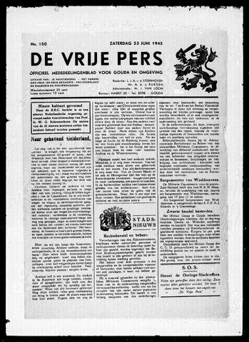De Vrije Pers 1945-06-23
