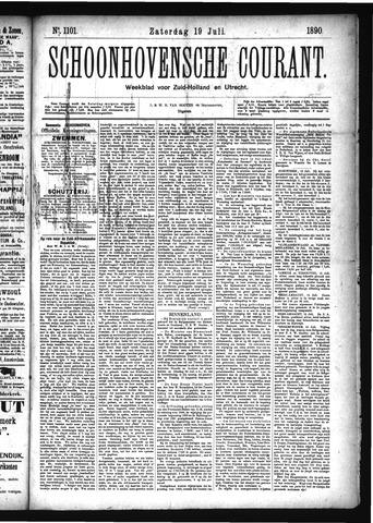 Schoonhovensche Courant 1890-07-19
