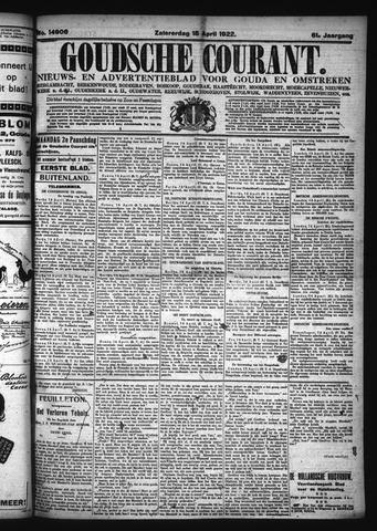 Goudsche Courant 1922-04-15